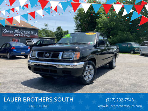 1998 Nissan Frontier for sale at LAUER BROTHERS SOUTH in York PA