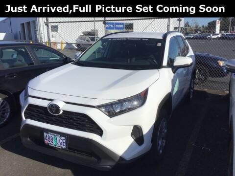 2020 Toyota RAV4 for sale at Royal Moore Custom Finance in Hillsboro OR