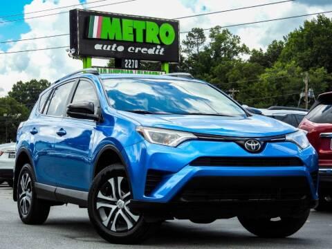 2017 Toyota RAV4 for sale at Metro Auto Credit in Smyrna GA