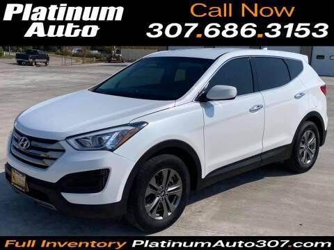 2015 Hyundai Santa Fe Sport for sale at Platinum Auto in Gillette WY