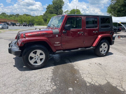 2007 Jeep Wrangler Unlimited for sale at Adairsville Auto Mart in Plainville GA