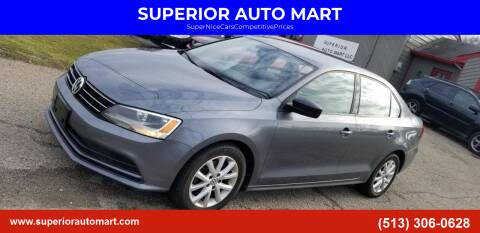 2015 Volkswagen Jetta for sale at SUPERIOR AUTO MART in Amelia OH