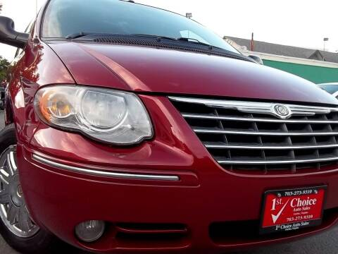2007 Chrysler Town and Country for sale at 1st Choice Auto Sales in Fairfax VA