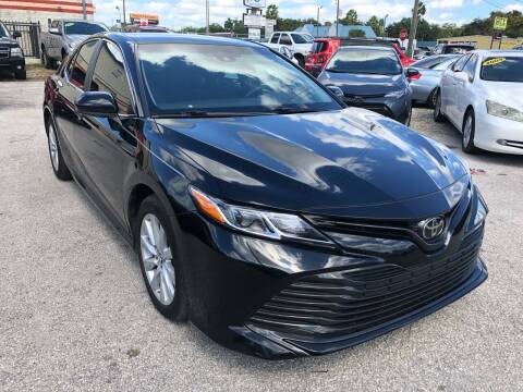 2018 Toyota Camry for sale at Marvin Motors in Kissimmee FL