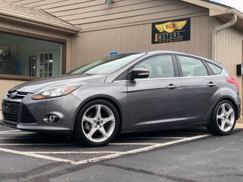 2014 Ford Focus for sale at MGM Motors LLC in De Soto KS