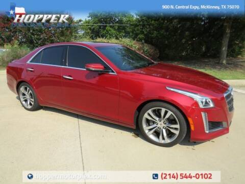 2014 Cadillac CTS for sale at HOPPER MOTORPLEX in Mckinney TX