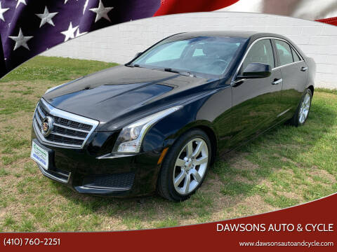 2014 Cadillac ATS for sale at Dawsons Auto & Cycle in Glen Burnie MD