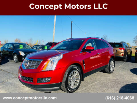 2011 Cadillac SRX for sale at Concept Motors LLC in Holland MI