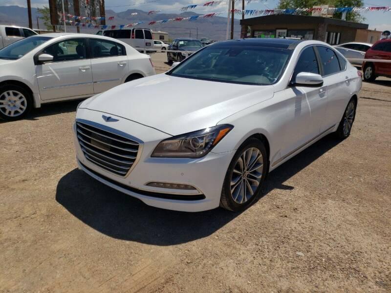 2016 Hyundai Genesis for sale at Bickham Used Cars in Alamogordo NM