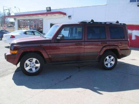 2007 Jeep Commander for sale at Summit Auto Sales Inc in Pontiac MI