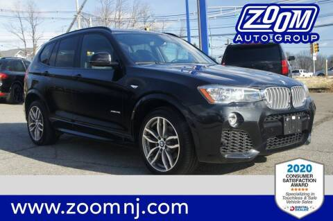 2017 BMW X3 for sale at Zoom Auto Group in Parsippany NJ