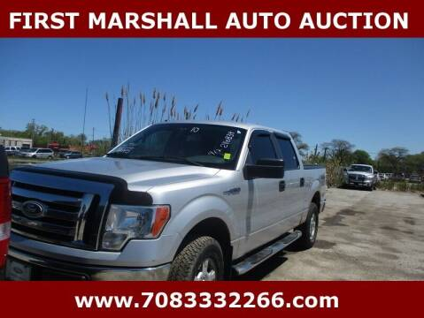 2010 Ford F-150 for sale at First Marshall Auto Auction in Harvey IL