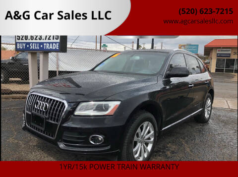 2016 Audi Q5 for sale at A&G Car Sales  LLC in Tucson AZ