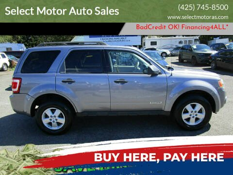 2008 Ford Escape for sale at Select Motor Auto Sales in Lynnwood WA