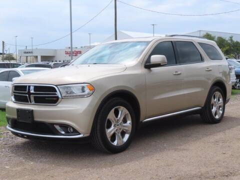 2014 Dodge Durango for sale at BIG STAR HYUNDAI in Houston TX
