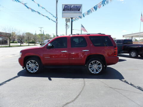 2013 Chevrolet Tahoe for sale at DeLong Auto Group in Tipton IN