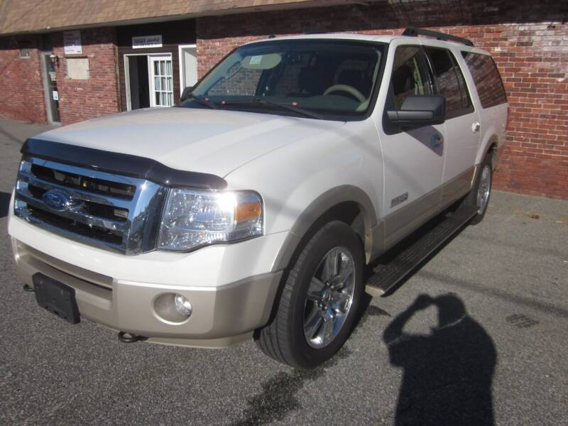 2008 Ford Expedition EL for sale at Tewksbury Used Cars in Tewksbury MA