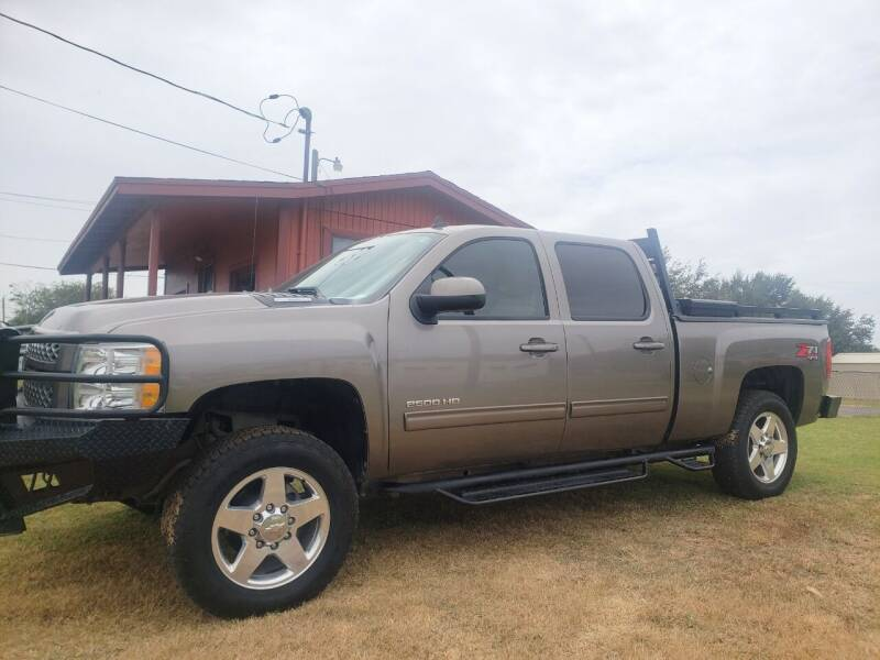 2012 Chevrolet Silverado 2500HD for sale at Rons Auto Sales in Stockdale TX