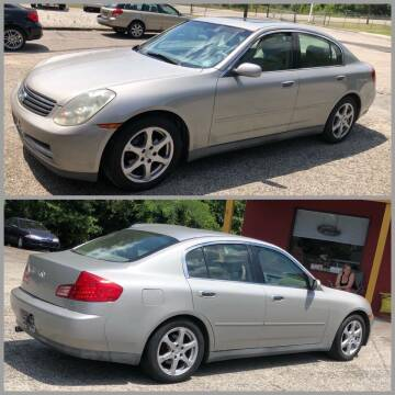 2003 Infiniti G35 for sale at AFFORDABLE USED CARS in Richmond VA