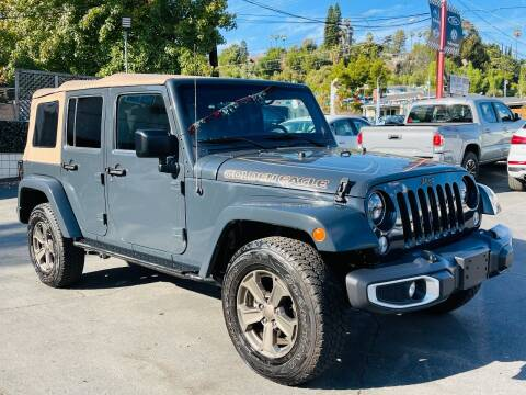 2018 Jeep Wrangler JK Unlimited for sale at Automaxx Of San Diego in Spring Valley CA