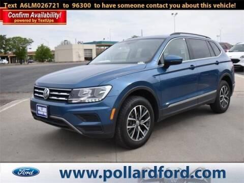 2020 Volkswagen Tiguan for sale at South Plains Autoplex by RANDY BUCHANAN in Lubbock TX