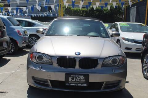 2008 BMW 1 Series for sale at FJ Auto Sales in North Hollywood CA