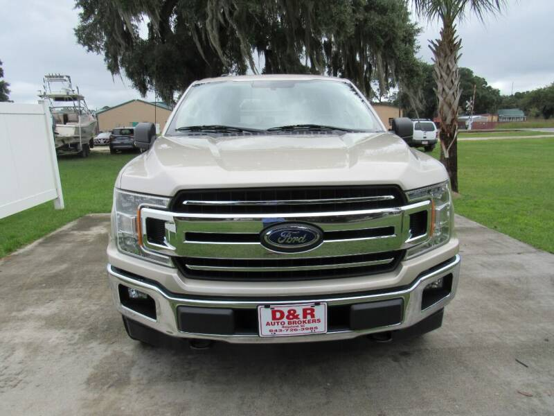 2018 Ford F-150 for sale at D & R Auto Brokers in Ridgeland SC