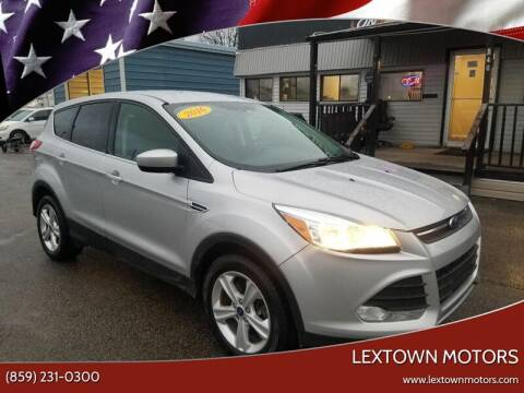 2016 Ford Escape for sale at LexTown Motors in Lexington KY