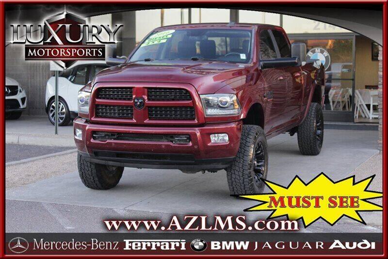 2016 RAM Ram Pickup 2500 for sale at Luxury Motorsports in Phoenix AZ