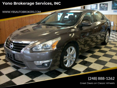 2013 Nissan Altima for sale at Yono Brokerage Services, INC in Farmington MI