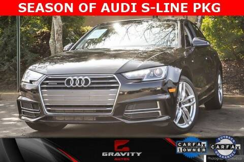 2017 Audi A4 for sale at Gravity Autos Atlanta in Atlanta GA