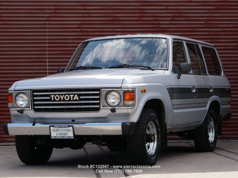 1985 Toyota Land Cruiser for sale at Sierra Classics & Imports in Reno NV