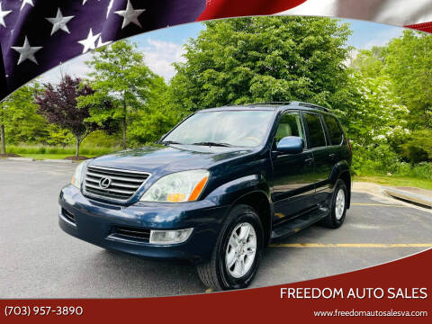 2005 Lexus GX 470 for sale at Freedom Auto Sales in Chantilly VA