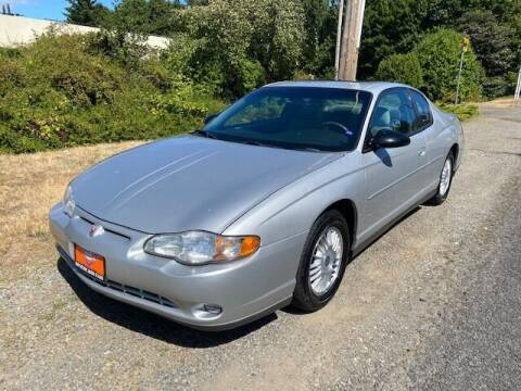 2002 Chevrolet Monte Carlo for sale at Signature Auto Sales in Bremerton WA