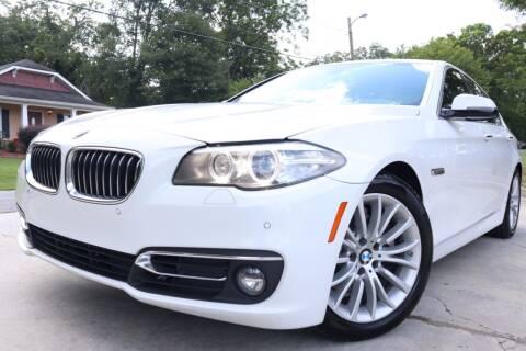 2014 BMW 5 Series for sale at Cobb Luxury Cars in Marietta GA