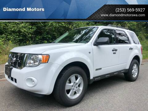 2008 Ford Escape for sale at Diamond Motors in Lakewood WA