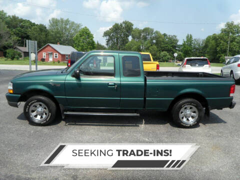 2000 Ford Ranger for sale at CARSON MOTORS in Cloverdale IN