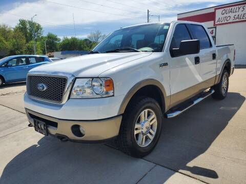 2006 Ford F-150 for sale at Quallys Auto Sales in Olathe KS