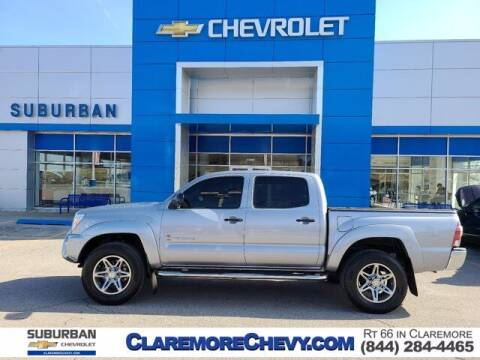 2014 Toyota Tacoma for sale at Suburban Chevrolet in Claremore OK