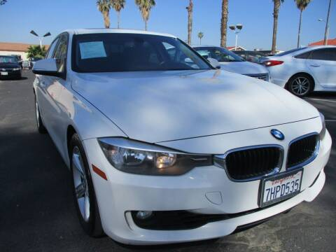 2015 BMW 3 Series for sale at F & A Car Sales Inc in Ontario CA