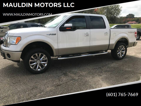 2010 Ford F-150 for sale at MAULDIN MOTORS LLC in Sumrall MS