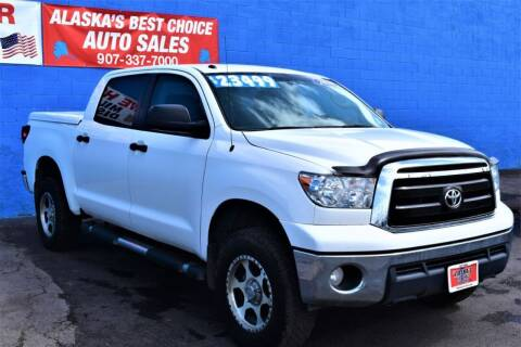 2010 Toyota Tundra for sale at Alaska Best Choice Auto Sales in Anchorage AK