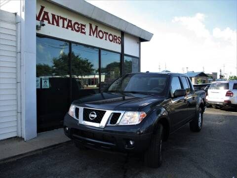2016 Nissan Frontier for sale at Vantage Motors LLC in Raytown MO