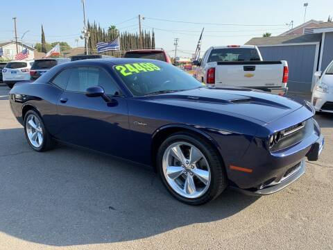2015 Dodge Challenger for sale at Blue Diamond Auto Sales in Ceres CA