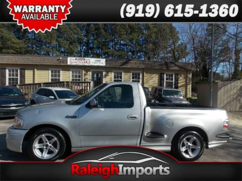 2002 Ford F-150 SVT Lightning for sale at Raleigh Imports in Raleigh NC