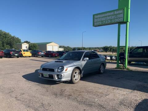 2002 Subaru Impreza for sale at Independent Auto in Belle Fourche SD