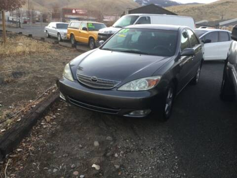 2003 Toyota Camry for sale at Small Car Motors in Carson City NV