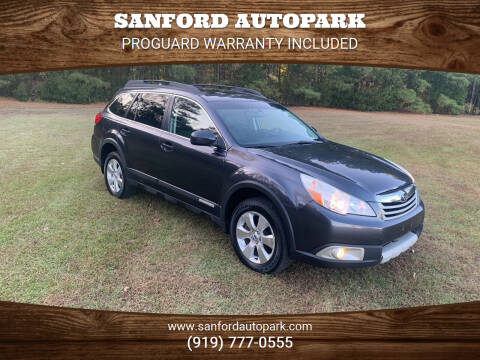2012 Subaru Outback for sale at Sanford Autopark in Sanford NC