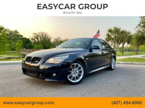 2010 BMW 5 Series for sale at EASYCAR GROUP in Orlando FL