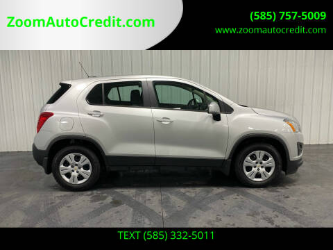 2016 Chevrolet Trax for sale at ZoomAutoCredit.com in Elba NY